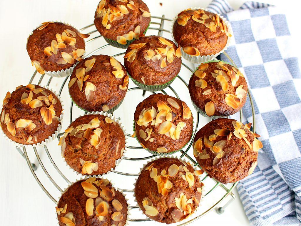 Gezonde muffins met speculaaskruiden