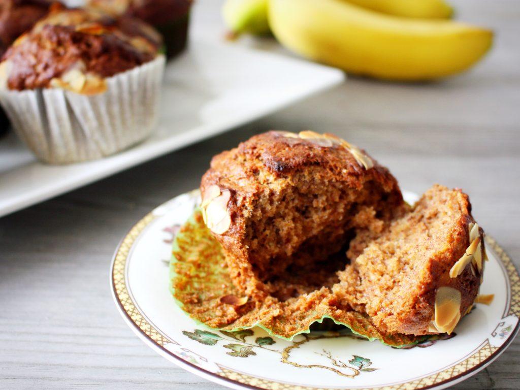 Gezonde muffins met speculaaskruiden.
