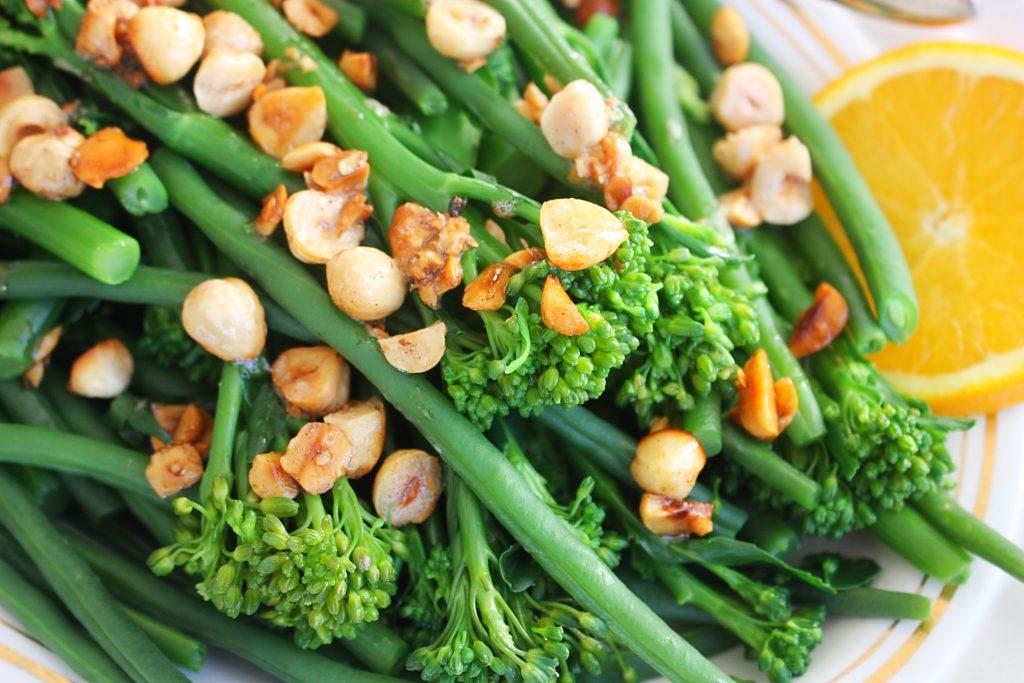 Bimi en haricots verts