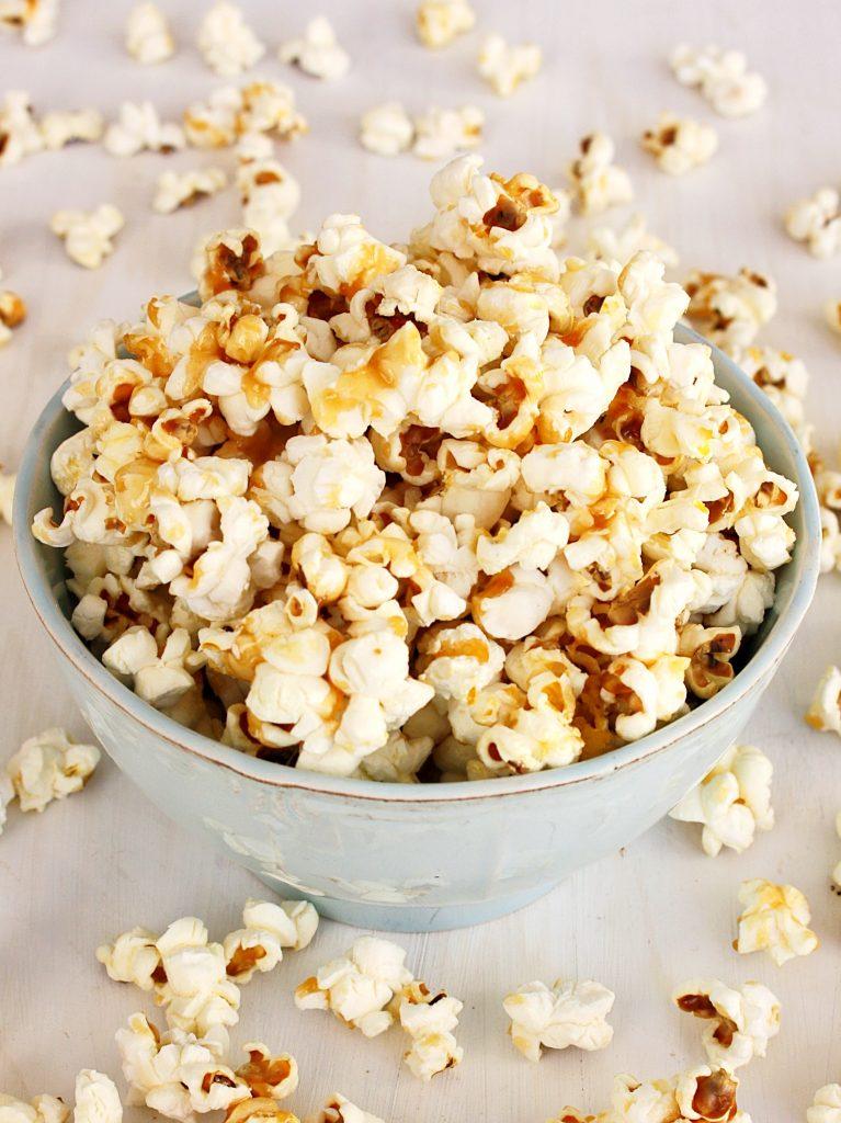 Popcorn gezouten karamel