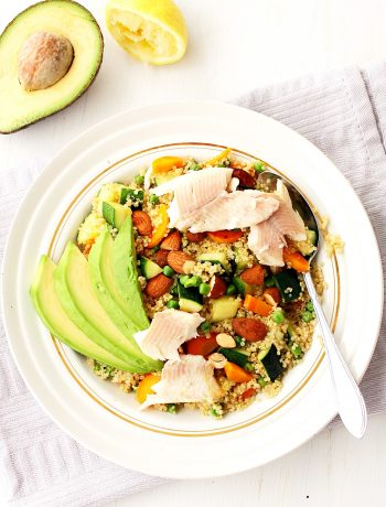 Courgette met quinoa, slanke recepten