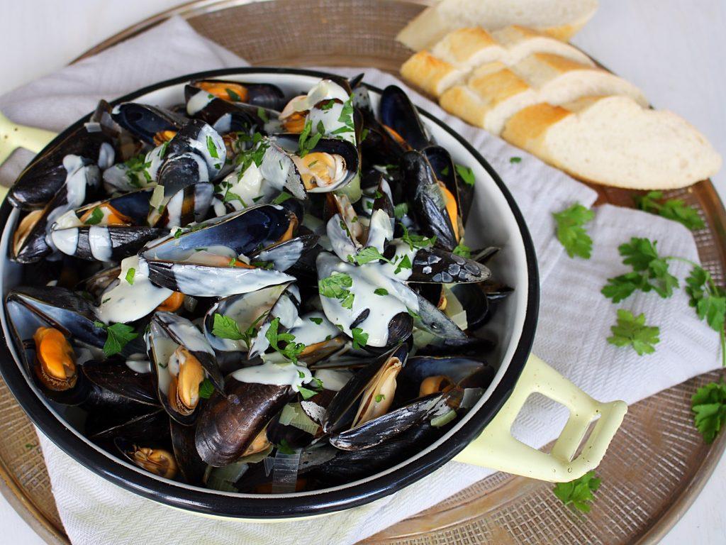 Mosselen roquefort recept