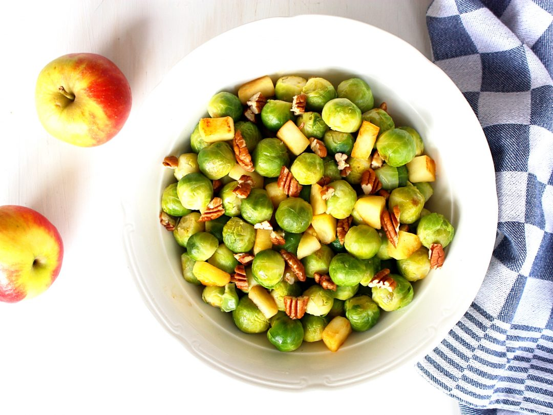 Spruitjes met appel