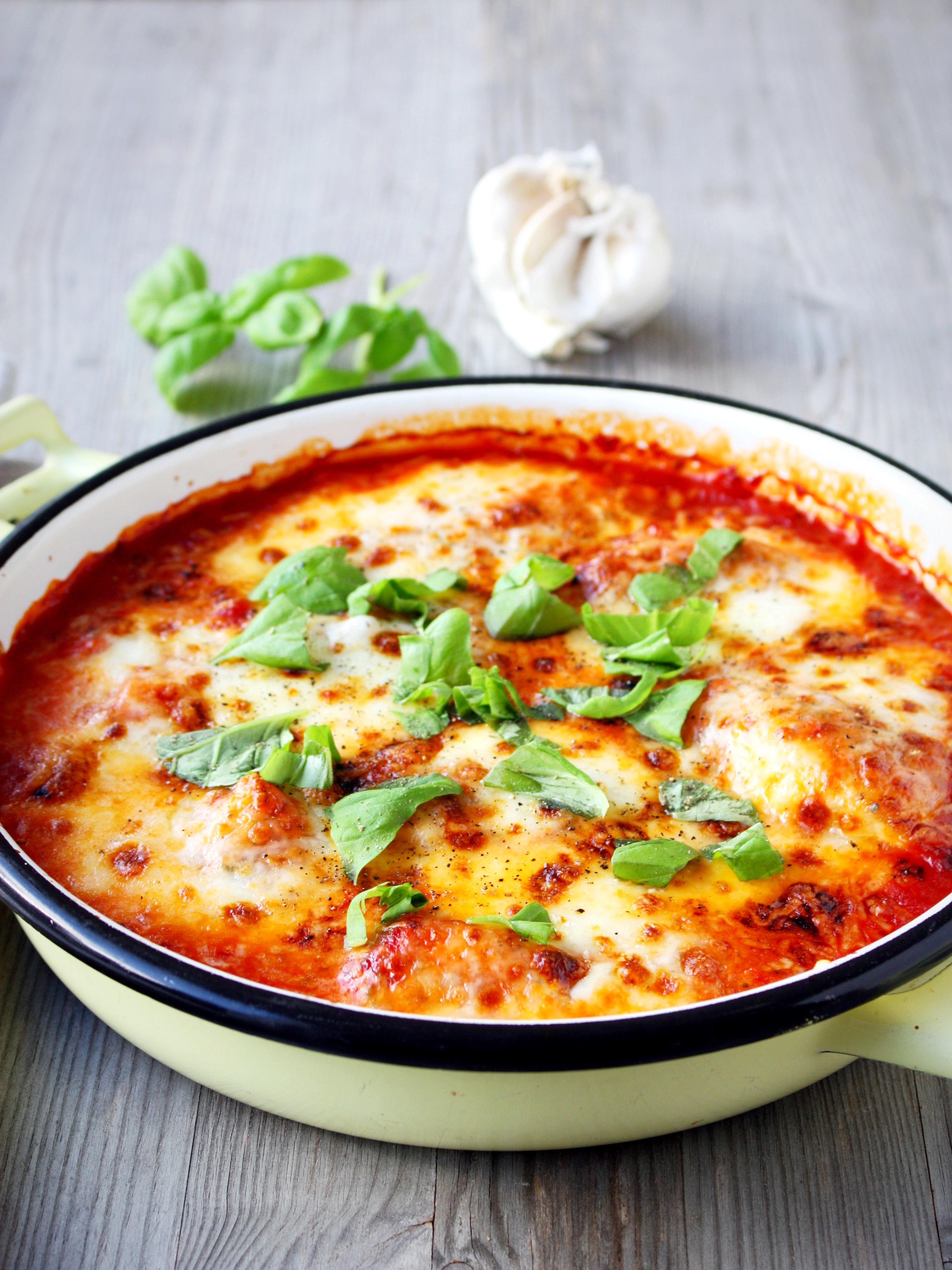 Verbazingwekkend Kip met mozzarella uit de oven » Silvie's Kitchen FH-53